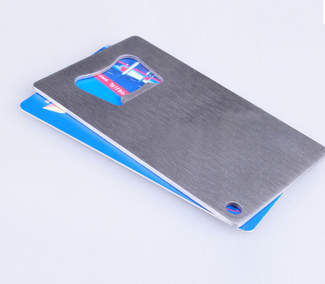 1000pcslot wallet size stainless steel credit card bottle opener 1000pcslot wallet size stainless steel credit card bottle opener business card beer openers colourmoves