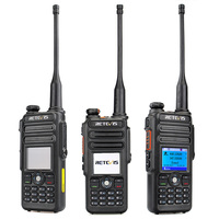Retevis RT82 Professional Walkie Talkie 3000 Channels Two Way Radio Waterproof CB Radio Dual band Portable Radio Comunicador