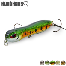Купить с кэшбэком Hunt house 2018 newer lure snake head lure noisy pencil bait wobblers 90mm 11.5g floating artificial bait fishing lure