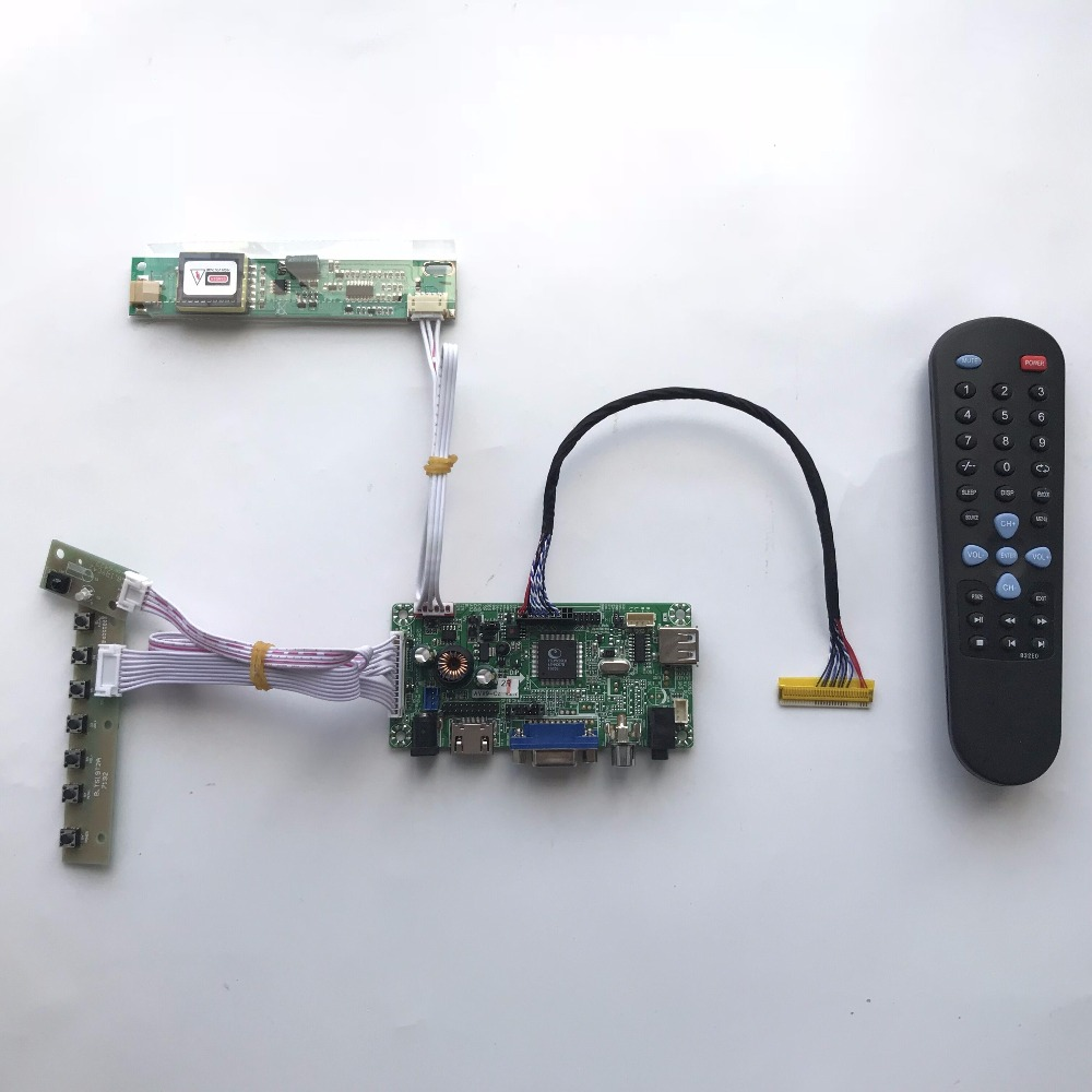 AVX9-CZ Universal HDMI AV VGA AUDIO LCD LED Controller Board for LVDS Monitor DIY 20481152 Free shipping m nt68676 2a universal hdmi vga dvi audio lcd controller board for 17 1inch 1680x1050 lp171we2 tl03 monitor for raspberry pi
