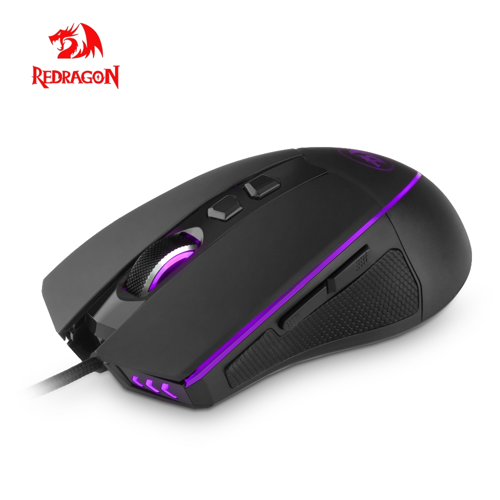 Redragon M909 RGB USB Gaming Mouse 12400DPI 8 buttons for computer programmable mice gamer lol