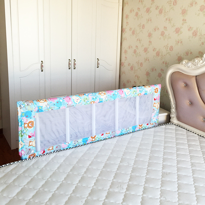 150*50cm Horizontal foldable baby safety bed guard rail suitable for bed mattress more than 15cm