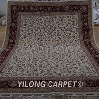 Yilong 8,5 x11.8 8' Топ hereke шерстяной шелковые ковры ручной работы изысканный персидский ковер шерстяной (1903)
