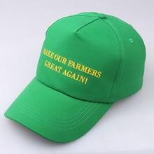1fe6841bfaf45 feitong Summer Baseball Cap Women Girl Make Our Farmers Cotton Adjustable  Unisex