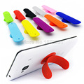 10x Присоске Телефон Владельца, One Touch Формы U Силиконовые Стенд Крепление для iPhone Samsung Xiaomi Huawei Oppo Vivo HTC Смартфонов