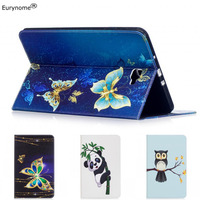 Free Shipping Folio Stand PU Leather Case For Samsung Galaxy Tab 8 9 P7300 P7310