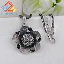 Модные ювелирные изделия массивные ожерелья Женские винтажные