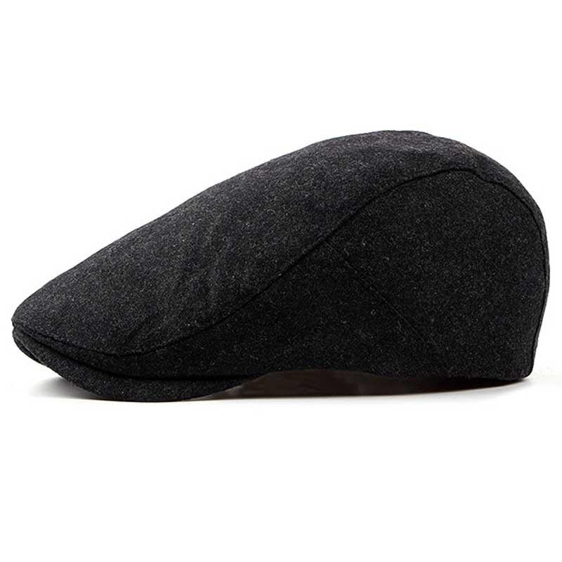 388c523a Hot Sale] FS Felt Beret Hat For Women Or Men Autumn Winter 2018 New ...