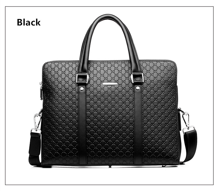 HTB1Lhfgbv1H3KVjSZFBq6zSMXXas Double Layers Men's Microfiber Synthetic Leather Business Briefcase Casual Shoulder Bag Messenger Bag Laptop Handbag Travel Bag