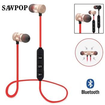 X Bluetooth Earphones Neckband Sport Wireless Headphones Magnetic Auriculares Earbuds audifonos Fone de ouvido For iPhone 7 Mi magnetic attraction bluetooth earphone headset waterproof sports 4.2