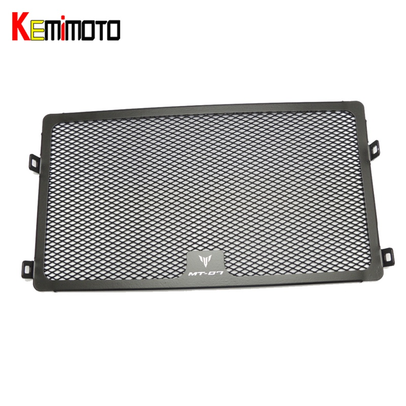 KEMiMOTO MT 07 Motorcycle Motorbike Radiator Grills Grille Guard Protector Cover For Yamaha MT-07 MT07 FZ-07 2013-2016 Alumium for yamaha mt 07 mt 07 fz 07 fz 07 radiator grille guard cover protector for yamaha mt07 fz07 2014 2015 2016 2017