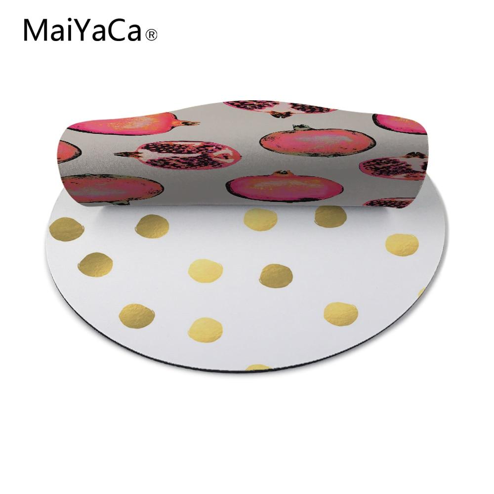 MaiYaCa Polka Dot Nieuw Klein formaat rond muismat Antislip rubberen - Computerrandapparatuur - Foto 5
