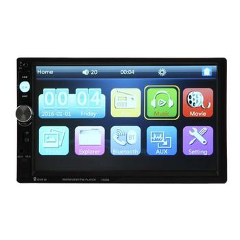 "VODOOL 7"" HD 2 Din Touch Screen LCD Car MP3 Player Bluetooth USB/TF/FM DVR/Aux Input Vehicle Radio MP5 Player Car Styling"