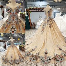 2ac1a25541 Coloured Wedding Dress Promotion-Shop for Promotional Coloured ...