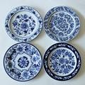 1 Peça Chinesa Antiga Porcelana Azul E Branca Placas Para Placa Pendurada Artesanato Como Decoração Da Parede