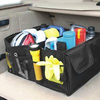 Foldable Car Trunk Storage Box Cargo Collapsible Container Storage Box Useful For Car Large Capacity Box