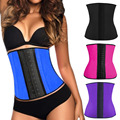 New Women Corsets Bustier Sexy Slim Lingerie Latex Cincher Waist Corsets Gothic Clothing Corselete Feminino Plus Size 3XL