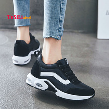 купить 2019 New Spring Women Sneakers Shoes Flat Summer Breathable Slip On Shoes Ladies Casual Shoes Comfortable Laces Walking Shoes по цене 1535.12 рублей
