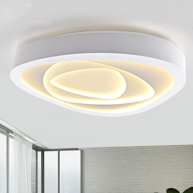 LICAN Surface mounted modern led ceiling lights for living room Bedroom White lustre plafonnier luminaire Home Ceiling Lamp lican lustre de plafond moderne modern wave ceiling lights led lamp for living room bedroom luminaire plafonnier ceiling lamp