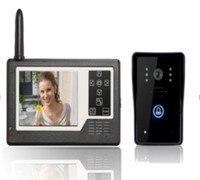 3.5 de Polegada 2.4 Ghz Sem Fio Interfone Telefone Video Da Porta