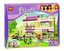 Bela 10164 Friends Olivia Villa Party Carnival Toys Gift Minifigures Building Block Minifigure Toys Compatible with Legoe
