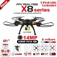 SYMA X8G X8C X8W X8HG RC Drone With SJ7000 14MP 1080p Full HD WiFi Camera 2.4G 4CH FPV Quadcopter Professional Drone VS MJX X101