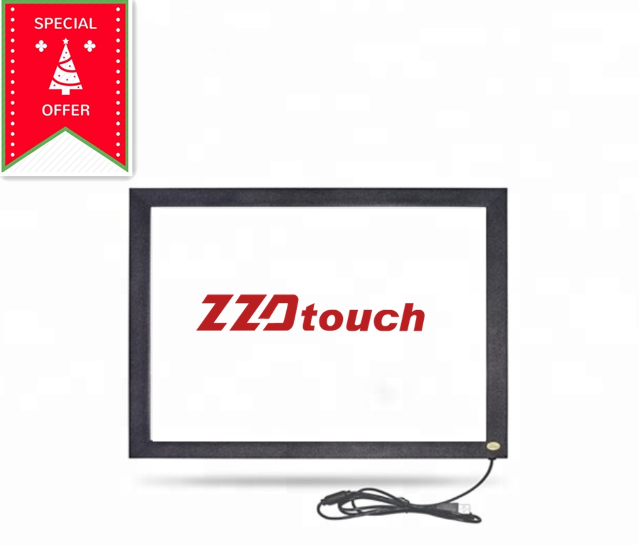 ZZDtouch 15 6 inch IR touch frame 4 points multi touch infrared touch screen overlay touchscreen