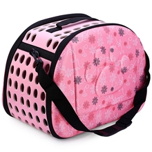 2017 Original Printing Small Dog Carrier Bag Outdoor Folding Portable Breathable Comfortable Pet Dog Travel Bag