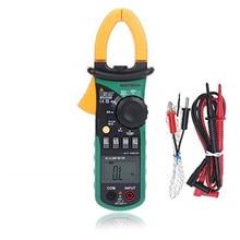 Original mastech ms2008b automático faixa manual digital braçadeira ac volt corrente res tampão temp freq medidor livre shiping