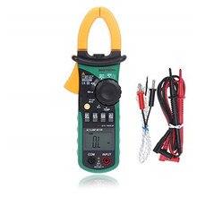 オリジナルmastech MS2008B自動手動レンジデジタルクランプメーターacボルト電流解像度キャップ温度周波数計無料市平