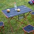 Frete grátis tamanho grande Piquenique acampamento ao ar livre tenda Liga de Alumínio mesa portátil dobrável mesa dobrável de pesca cadeira mesa