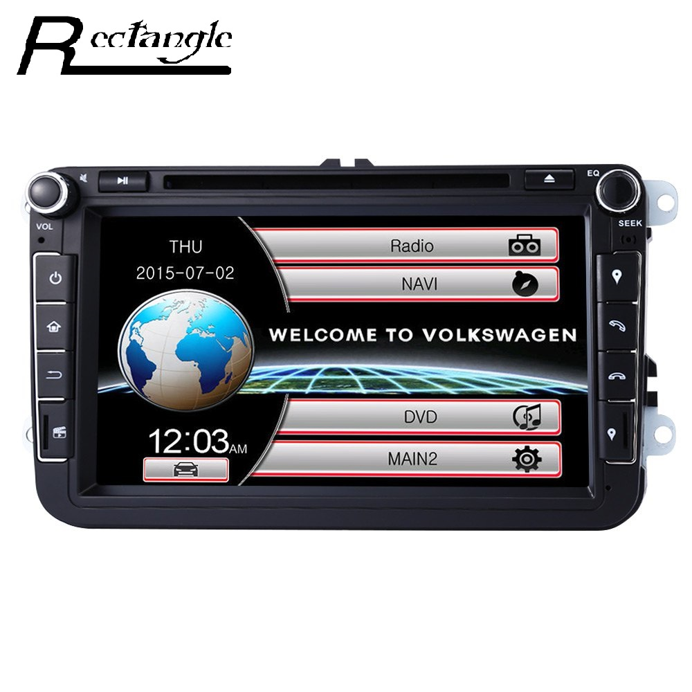 Universal 2 Din Car DVD Player GPS Navigation In dash Auto Radio WCE Systerm with 8