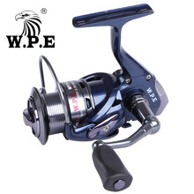 W.P.E W11-30F/40F 5.5:1 High Speed Spinning Fishing Reel 9+1 Ball Bearings Right/Left interchangeable Handle Front Loading Wheel