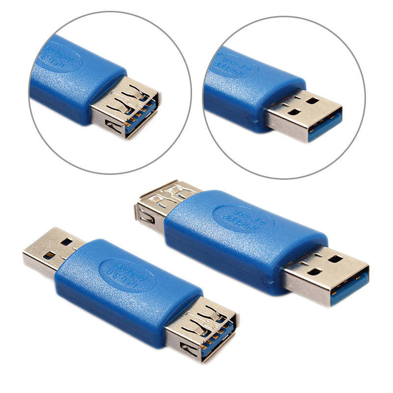 USB Male Connector To USB 3.0 Micro Female USB  Converter Data Adapter High Speed Android Certified Cell Phone Accessories
