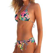 6ec055897458c KANCOOLD Summer Tankini Set Women Brazilian Halter Top Pantie Underwear Beachwear  Padded Push Up Bra Bathing