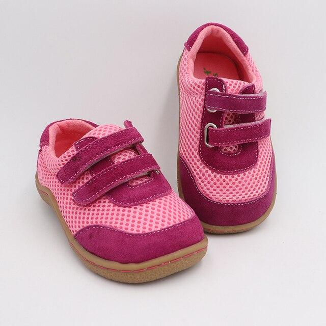 Tipsietoes למעלה מותג 2019 אביב אופנתי נקי לנשימה ספורט נעלי ריצה בנים ובנות ילדים יחפים סניקרס