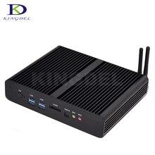 2017 новые HTPC Intel Core i7 4500U 5500U 5550U двухъядерный Dual LAN Безвентиляторный Mini PC Настольный компьютер 2 * HDMI неттоп 8 ГБ Оперативная память NUC