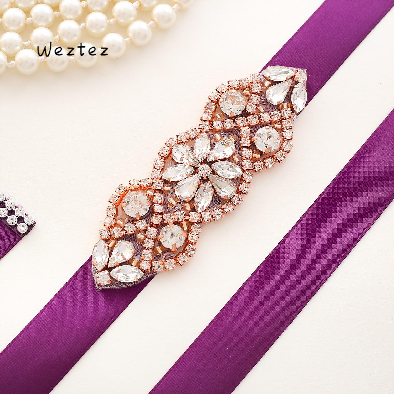 665912bc4f Big Sale] crystal belt Bridal Belt Rhinestone Waistband Wedding ...