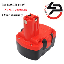 Ni-MH 14.4 v 3.0Ah Remplacement pour Bosch outil batterie BAT038 2 607 335 264 BAT040 2 607 335 276 BAT140 2 607 335 BAT041 BAT159