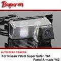 For Nissan Patrol Super Safari Y61 / Patrol Armada Y62 Car Rear View  / Reversing Camera / HD CCD Night Vision wire wireless