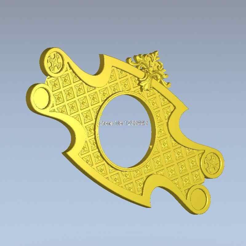 Kualitas tinggi 3d model bantuan untuk cnc atau 3D printer dalam format file STL 3D furniture dekorasi Decor_4
