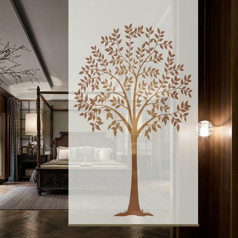 100 Cm X 200 Cm Hängen Bildschirm Abgeschnitten Die Geheimnisvolle Vorhänge Weiche Partition Wohnzimmer Hängen Bildschirm-bodhi Baum