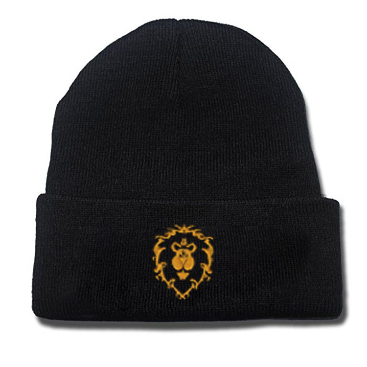Embroidered Logo Resident Evil Zelda Halo UNSC Hearthstone Assassin Creed Horde Allinace The Division Agent Beanie Warm Hat Gift
