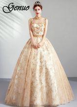 Lange Mouw V-hals Vrouw Jurk 2019 Lente Zomer Rijk Bloemen Gedrukt Party Club Maxi Jurken A-lijn Elegant Chiffon Vestido