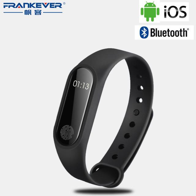 M2 Freqüência Cardíaca Rastreador De Fitness Esporte IP67 À Prova D' Água Do Bluetooth Pulseira Inteligente Pedômetro Pulseira Inteligente para IOS Android