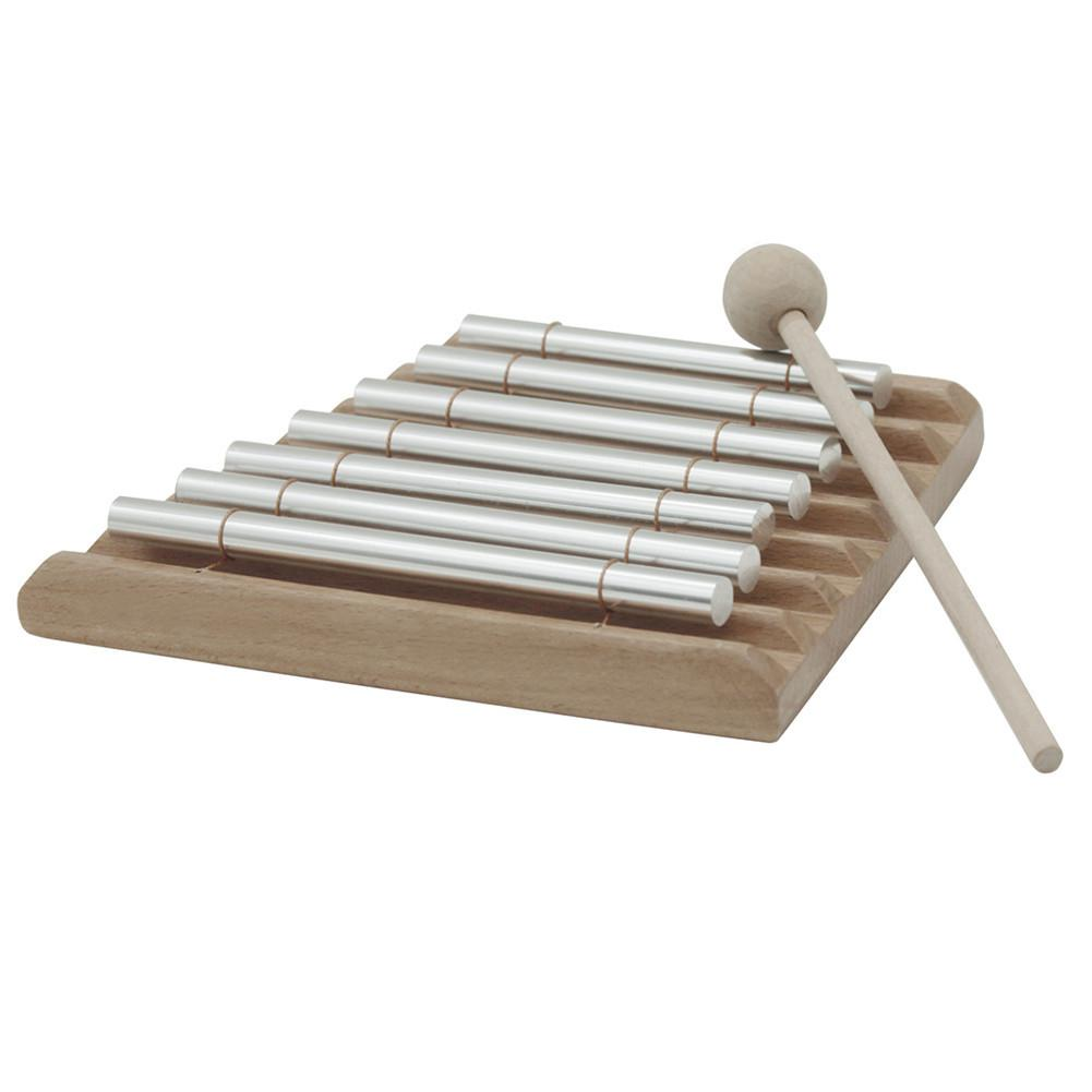 Tone Wind Xylophone Knocking Bell Chimes Piano With Stick Reminder Percussion Instrument For Children Kids Musical Gifts