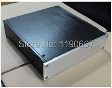 All Aluminum Chassis Short Version For Small Pre Amp DAC Chassis 1Piece