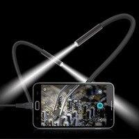 15 Mt 6 LED Endoskop Kamera Wasserdichte Handy 300000 Pixel CMOS USB Endoskop Handkamera Digitale Inspektionskamera