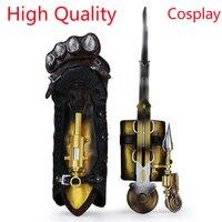 Nieuwe Assassins Creed Hidden Blade Syndicate Gauntlet Brinquedos Edward Kenway Juguetes blade PVC Figuur Model Kinderen Speelgoed
