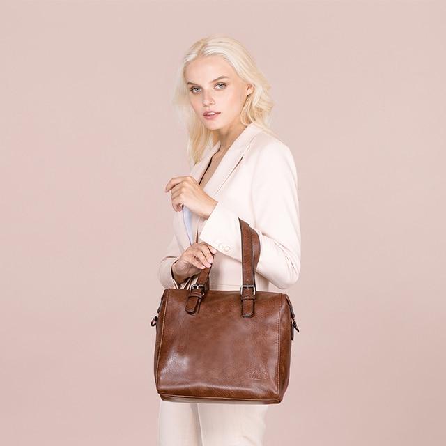 AMELIE GALANTI Women's Bag Retro Three-Dimensional Crossbody Bag Large-Capacity Casual Fashion Brand Women's Handbags Hot Sale Top-Handle Bags
